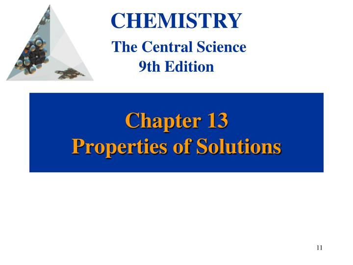 chapter 13 properties of solutions n.