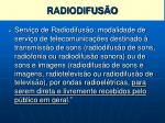 radiodifus o