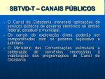 sistema brasileiro de televis o digital terrestre sbtvd t