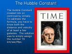 the hubble constant