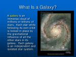 what is a galaxy