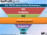 the truth about online marketing is1