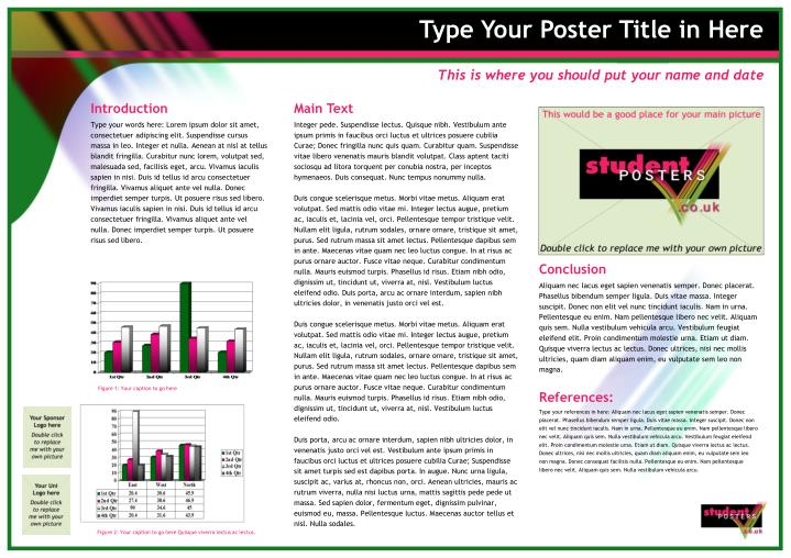 type your poster title in here n.