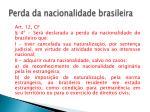 perda da nacionalidade brasileira1