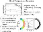 global computations saturation