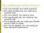 est nep jemn ch zji t n internetu