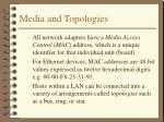 media and topologies1