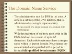 the domain name service2