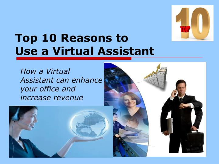 top 10 reasons to use a virtual assistant n.