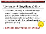 abernathy engelland 2001
