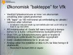 konomisk bakteppe for vfk