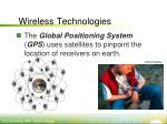 wireless technologies4