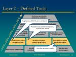 layer 2 defined tools