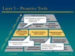 layer 3 proactive tools