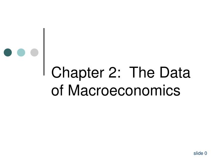 chapter 2 the data of macroeconomics n.