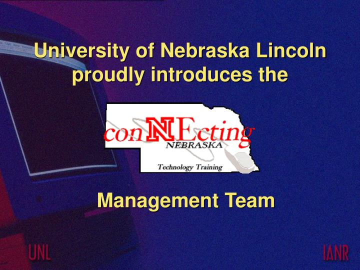 university of nebraska lincoln proudly introduces the n.
