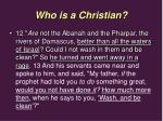 who is a christian26