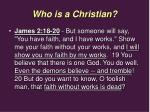 who is a christian7