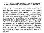 analisis sintactico ascendente22
