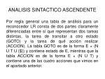 analisis sintactico ascendente28