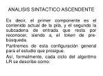 analisis sintactico ascendente32