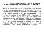 analisis sintactico ascendente38