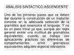 analisis sintactico ascendente45