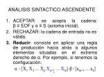 analisis sintactico ascendente8