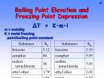 boiling point elevation and freezing point depression1