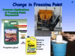 change in freezing point1