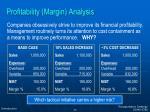 profitability margin analysis1