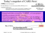 today s snapshot of care next 4 jra s