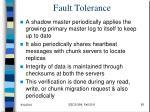fault tolerance1
