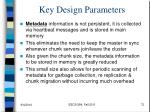 key design parameters1