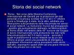 storia dei social network