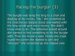 facing the burglar 3