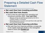 preparing a detailed cash flow statement2