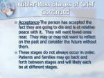 k bler ross stages of grief continued1