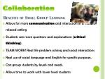 benefits of small group learning