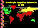 distribui o geogr fica da infec o do vha