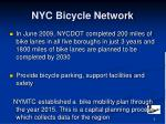 nyc bicycle network