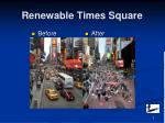 renewable times square