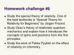 homework challenge 6