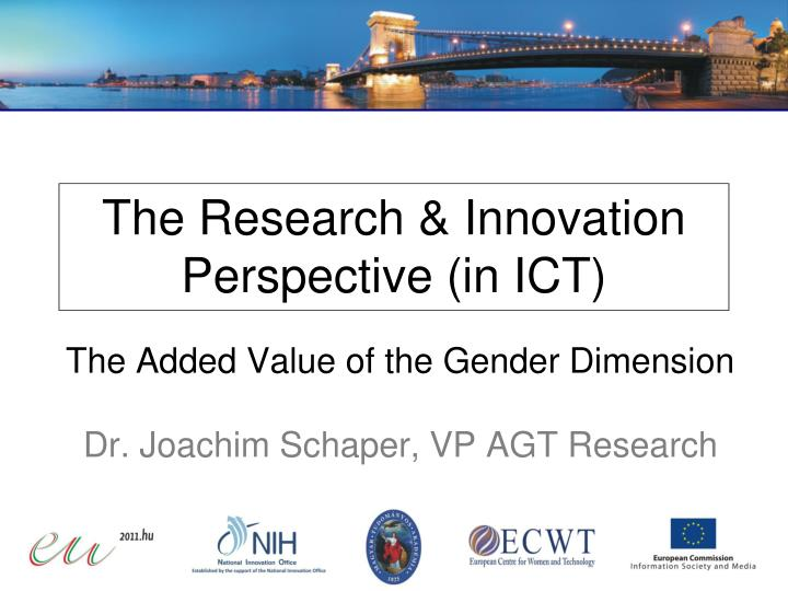 the research innovation perspective in ict n.