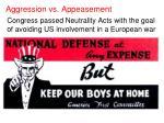 aggression vs appeasement4