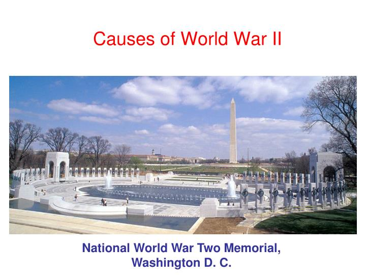 causes of world war ii n.
