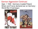 german aggression continues5