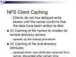 nfs client caching1