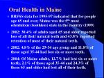 oral health in maine4