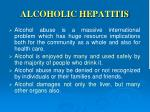 alcoholic h epatitis